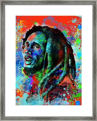 Marley 10 Framed Print by Bekim Art