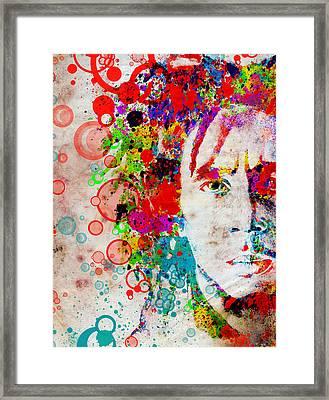 Marley 4 Framed Print by Bekim Art