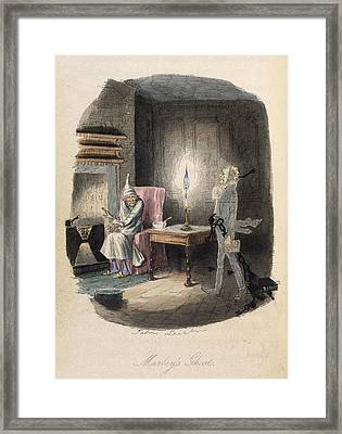 Marley's Ghost Framed Print by British Library