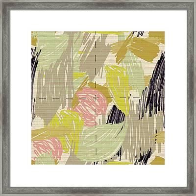 Marlow Pattern Framed Print by Lisa Barbero