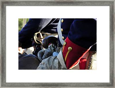 Dressed For War Circa 1830 Framed Print by David Lee Thompson