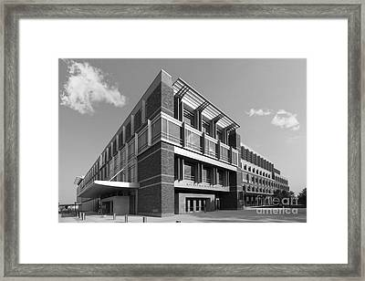 Marquette University Eckstein Hall  Framed Print by University Icons