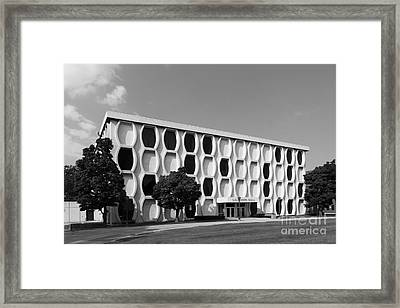 Marquette University Lalumiere Hall Framed Print by University Icons