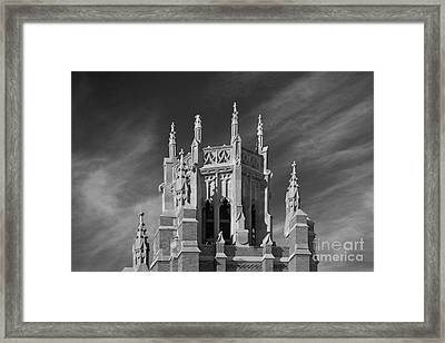Marquette University Marquette Hall Framed Print by University Icons