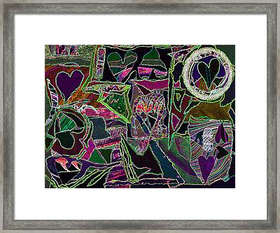 Marriage V2 Framed Print by Kenneth James