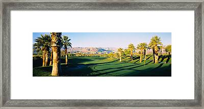 Marriot Desert Spring Ca, Usa Framed Print by Panoramic Images