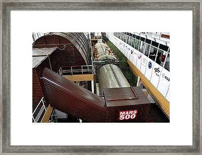 Mars-500 Facility, Exterior View Framed Print by Science Photo Library