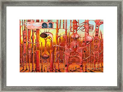 Mars Framed Print by Colin Thompson