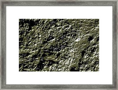 Mars - Hale Crater Detail Framed Print by Freyk John Geeris