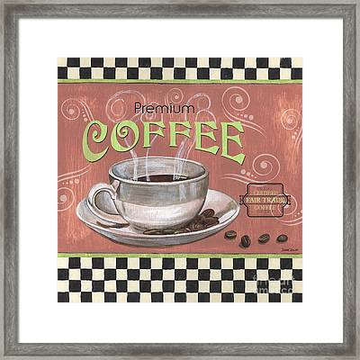 Marsala Coffee 2 Framed Print by Debbie DeWitt