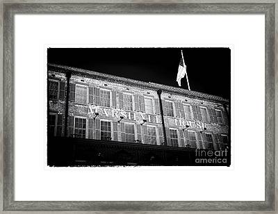 Marshall House Framed Print by John Rizzuto