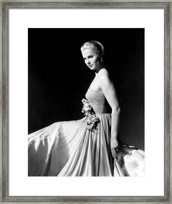 Martha Hyer, Ca. Mid-1950s Framed Print by Everett