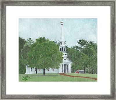 Martha Mary Chapel Framed Print by Cliff Wilson