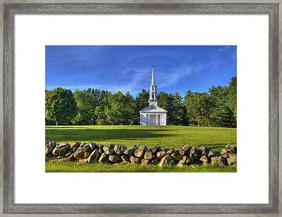 Martha Mary's Chapel Framed Print by David Simons