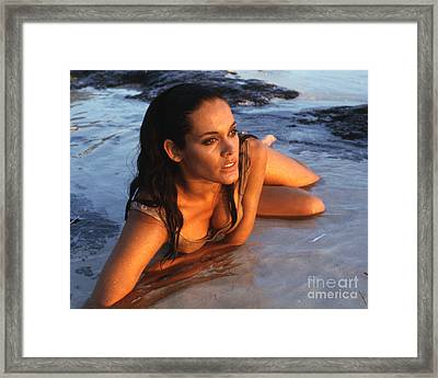 Martine Beswick In Thunderball Framed Print by The Phillip Harrington Collection