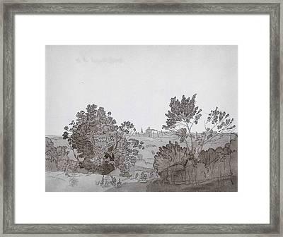 Martinellis S Vineyard Framed Print by Celestial Images