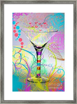 Martini Framed Print by Mauro Celotti