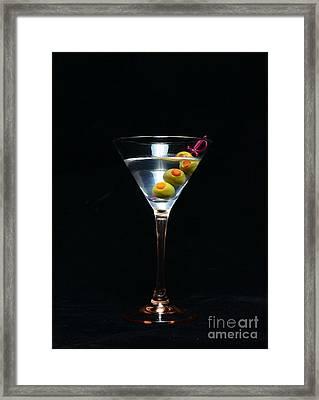 Martini Framed Print by Paul Ward