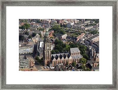 Martinitoren, Groningen Framed Print by Bram van de Biezen