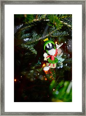 Marvin The Martian Framed Print by Brynn Ditsche