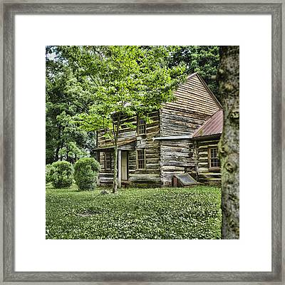 Mary Dells House Framed Print by Heather Applegate