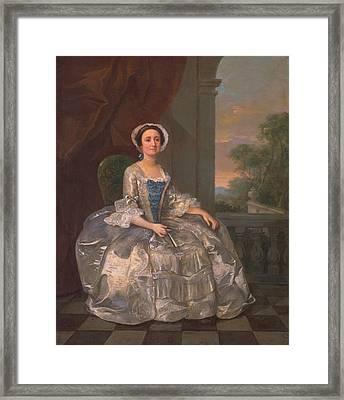 Mary Hoadly, C.1742 Framed Print by William Hogarth