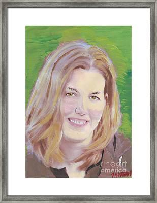 Mary Framed Print by John Morris