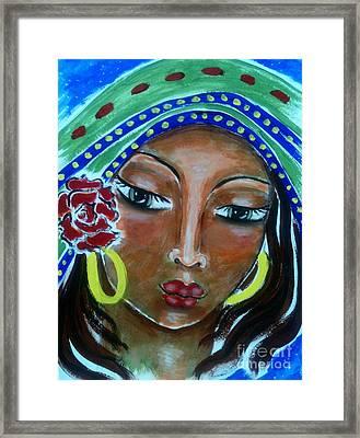 Mary Of Magdala Framed Print by Maya Telford