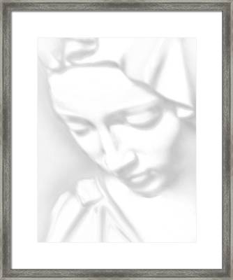 Mary Pieta Framed Print by Tony Rubino