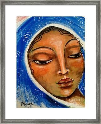 Mary Salome Framed Print by Maya Telford