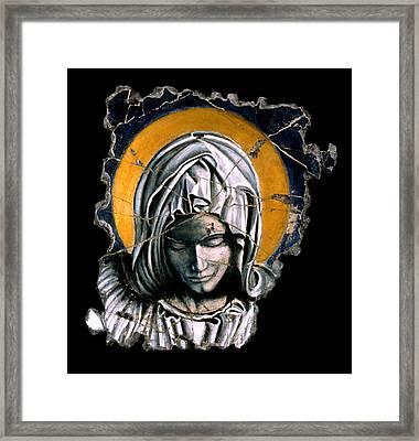 Mary Super Petram Framed Print by Steve Bogdanoff