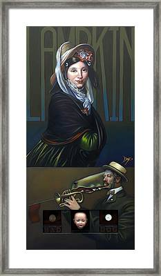 Maryanna Of Littleham Framed Print by Patrick Anthony Pierson
