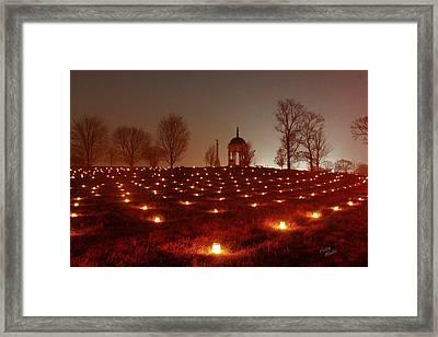 Maryland Monument 12 Framed Print by Judi Quelland