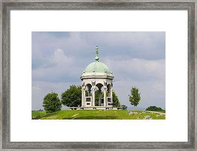 Maryland Monument - Antietam National Battlefield Framed Print by Bill Cannon