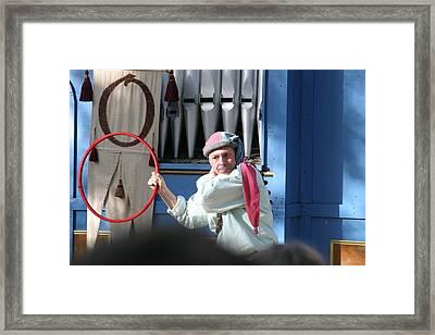 Maryland Renaissance Festival - A Fool Named O - 121212 Framed Print by DC Photographer