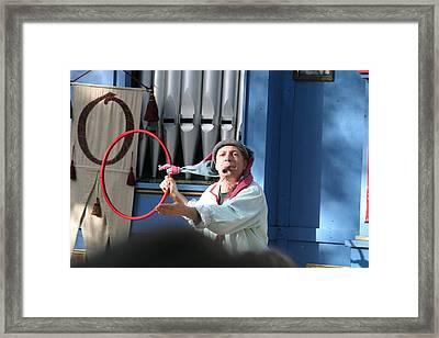 Maryland Renaissance Festival - A Fool Named O - 121213 Framed Print by DC Photographer
