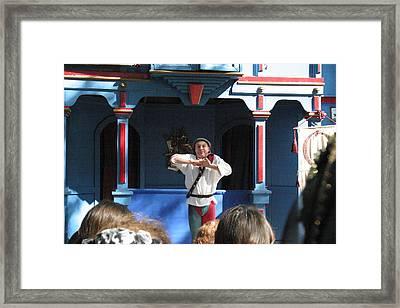 Maryland Renaissance Festival - A Fool Named O - 121226 Framed Print by DC Photographer