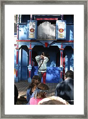 Maryland Renaissance Festival - A Fool Named O - 12124 Framed Print by DC Photographer