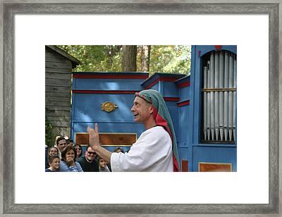 Maryland Renaissance Festival - A Fool Named O - 121240 Framed Print by DC Photographer