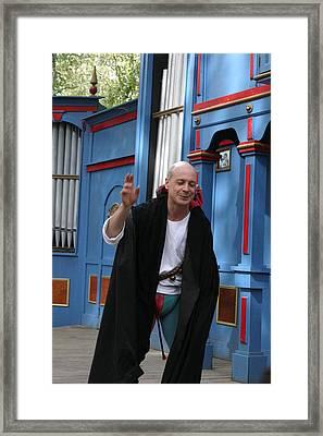 Maryland Renaissance Festival - A Fool Named O - 121245 Framed Print by DC Photographer