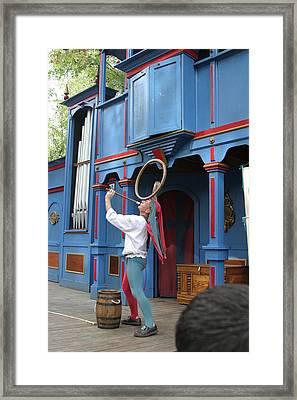 Maryland Renaissance Festival - A Fool Named O - 121258 Framed Print by DC Photographer