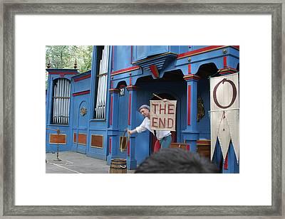 Maryland Renaissance Festival - A Fool Named O - 121261 Framed Print by DC Photographer