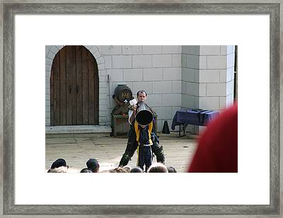 Maryland Renaissance Festival - Hack And Slash - 12123 Framed Print by DC Photographer