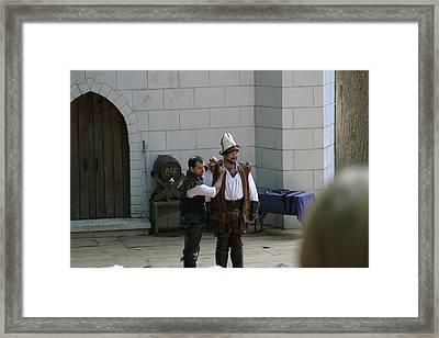 Maryland Renaissance Festival - Hack And Slash - 12124 Framed Print by DC Photographer