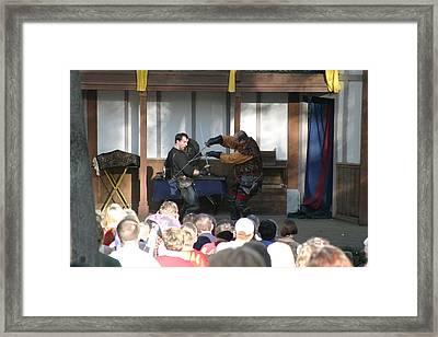 Maryland Renaissance Festival - Hack And Slash - 12129 Framed Print by DC Photographer