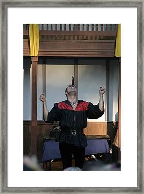 Maryland Renaissance Festival - Johnny Fox Sword Swallower - 1212117 Framed Print by DC Photographer