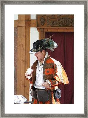 Maryland Renaissance Festival - Johnny Fox Sword Swallower - 12122 Framed Print by DC Photographer