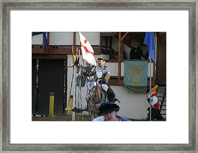Maryland Renaissance Festival - Jousting And Sword Fighting - 121211 Framed Print by DC Photographer