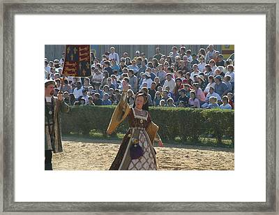 Maryland Renaissance Festival - Jousting And Sword Fighting - 1212117 Framed Print by DC Photographer