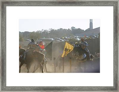 Maryland Renaissance Festival - Jousting And Sword Fighting - 1212141 Framed Print by DC Photographer